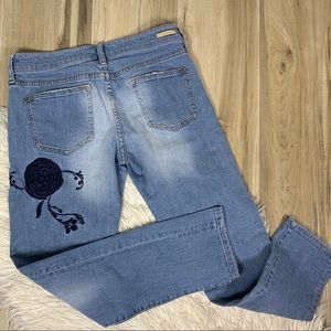 Anthropologie Jeans - Anthro Pilcro & The Letterpress Embroider Hyphen